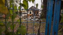Detached homes in East Vancouver are coming down and many will be subdivided with more affordable housing options such as duplexes or townhouses being built. (John Lehmann/The Globe and Mail)
