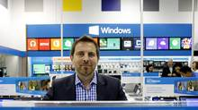 Best Buy Canada chief executive officer Ron Wilson has focused on closing underperforming stores and slashing costs. (Fernando Morales/The Globe and Mail)