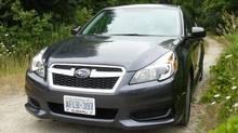 2013 Subaru Legacy (Petrina Gentile for The Globe and Mail)