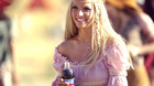 "On Sunday, February 3, 2002, during the Superbowl, Pepsi-Cola North America unveils a new Britney Spears commercial for its flagship brand. After appearing in other Pepsi commercials, Britney Spears is back with a 90-second blockbuster that will debut during the first quarter of Sunday's game. The spot, called ""Now and Then, "" takes viewers on a ride through Pepsi's advertising history - the Pepsi Generations. Spears adds her unique flair to Pepsi commercials from the 1950s, 60s, 70s, and 80s and brings the viewer to 2002 with her updated version of the ""Joy of Pepsi"" song. The spot was created by Pepsi's longtime advertising agency, BBDO New York."