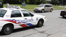 Toronto Police data shows black people are disproportionately charged with 'out-of-sight traffic violations.' (Fernando Morales/The Globe and Mail)