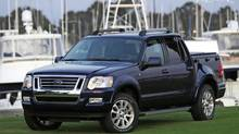 2008 Ford Explorer Sport Trac Credit: Ford
