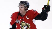 Daniel Alfredsson is returning to the Ottawa Senators for another season, maybe more. (CHRIS WATTIE/REUTERS)