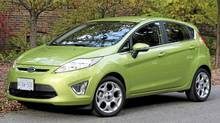 2011 Ford Fiesta (Dan Proudfoot for the Globe and Mail)