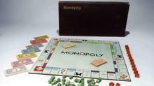 This undated photo provided by Hasbro shows the original Monopoly which was introduced in 1935. (ASSOCIATED PRESS)