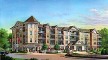 A rendering of Royal Manor, a condominium-like development on property owned by the Royal Canadian Legion in Meaford, Ont. (BrightStar Corp./BrightStar Corp.)