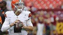 Cleveland Browns quarterback Johnny Manziel (Geoff Burke/USA Today Sports)