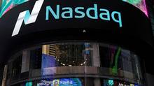 The exterior of the Nasdaq market site in New York City is seen in this file photo. (SHANNON STAPLETON/REUTERS)