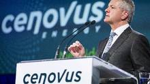 Cenovus CEO Brian Ferguson speaks at the company annual meeting in Calgary, Wednesday, April 24, 2013. (Chris Bolin for The Globe and Mail)