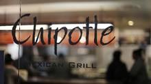 This Sunday, Dec. 27, 2015, file photo, shows a Chipotle restaurant in Union Station in Washington. (Gene J. Puskar/AP)