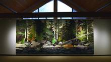 The McMichael show includes Dorland's immense French River, a place he describes as 'mesmerizing.' (Fred Lum/The Globe and Mail)
