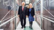 Richard Nesbitt and Barbara Annis co-authored a book on gender roles in the workplace, suggesting that men prefer swiftness over tact, while women consider a long-term contextual approach. (Jennifer Roberts for The Globe and Mail)