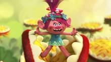 Troll princess Poppy (voiced by Anna Kendrick) bursts into song in DreamWorks Animation's Trolls (DreamWorks Animation)