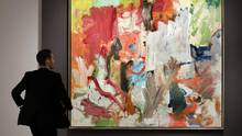 In a Nov. 4, 2016 file photo, Willem de Kooning's Untitled XXV is displayed at Christie's, in New York. (Richard Drew/AP)