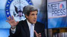 U.S. Senator John Kerry says 'There is a real threat that the market will look at Washington again on Monday and say, You can't get the job done.' (Reuters/Reuters)