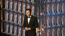 Oscar host Seth MacFarlane speaks on stage at the 85th Academy Awards in Hollywood, Feb. 24, 2013. (MARIO ANZUONI/REUTERS)