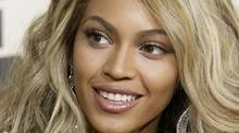 Beyonce arrives at the 50th Grammy Awards in Los Angeles (DANNY MOLOSHOK/REUTERS/Danny Moloshok)