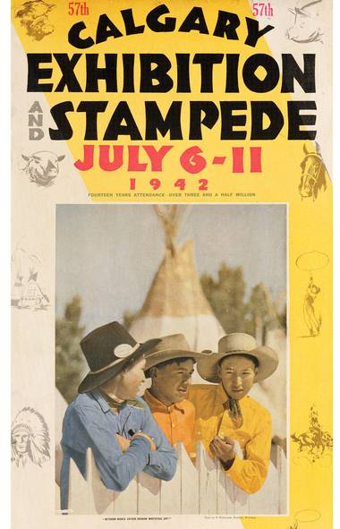 In Pictures A Century Of Calgary Stampede Posters The