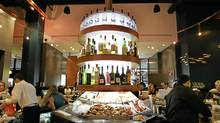 The raw bar at Coast Restaurant, 1054 Alberni Street in Vancouver. (Laura Leyshon For The Globe and Mail)