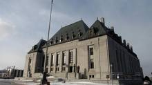 In a hearing at the Supreme Court of Canada on Thursday, the government will duke it out with judges over clashing interpretations of the Truth in Sentencing Act. (DAVE CHAN FOR THE GLOBE AND MAIL)