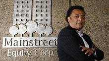 Bob Dhillon is CEO, founder, and 36-per-cent owner of the company that's snapping up run-down apartment buildings, fixing them up, and renting them out at higher rents suitable for the middle of the market. (Larry MacDougal/The Globe and Mail)