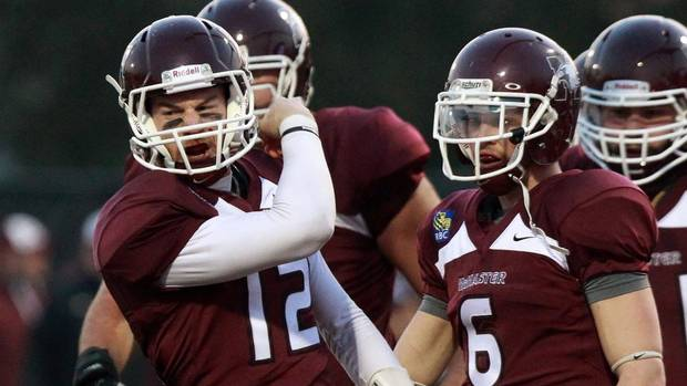 McMaster, Laval set up Vanier rematch - The Globe and Mail