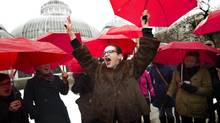 Advocates cheered the ruling, but the government will likely table legislation before the one-year deadline. (Peter Power/The Globe and Mail)