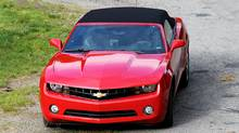 2011 Chevrolet Camaro convertible (Peter Cheney/The Globe and Mail)