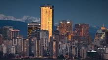 Vancouver skyline (JOHN LEHMANN/JOHN LEHMANN/GLOBE AND MAIL)
