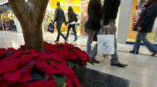 Some Canadians are ditching their 'give like Santa' ways and are putting the brakes on holiday spending. (Kevin Van Paassen/The Globe and Mail)