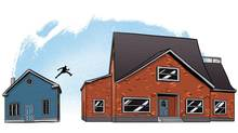 Like many homeowners looking to move to a bigger, and more expensive, property, the big question is whether the numbers make sense. (Steven Hughes for The Globe and Mail)