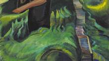 "A detail from Emily Carr's ""The Crazy Stair"" is shown in an image made available on Thursday November 28, 2013. (HO/THE CANADIAN PRESS)"
