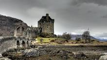 Ramble around the grounds of Eilean Donan castle in the Scottish Highlands.
