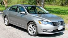 2012 Volkswagen Passat TDI (Bob English for The Globe and Mail)