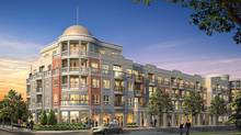 Along Oak Park Boulevard, a four-storey mid-rise called The Renaissance will round out the planned community of townhouses.