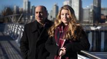 Madeline Clerides, 22, and her father, John Clerides, in Vancouver. 'The thing with savings is it has to start early,' says Mr. Clerides, 57, explaining how he urges his children to differentiate between needs and wants. (DARRYL DYCK/THE GLOBE AND MAIL)