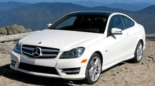 2012 Mercedes-Benz C-Class Coupe (Bob English for the Globe and Mail)