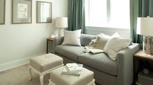 Good selection of furniture - such as a quality sofa bed - helps get the most out of a double-duty room. (Barry Calhoun)