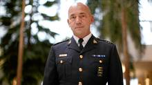 Newly appointed RCMP Commissioner Bob Paulson poses for a photograph at RCMP HQ in Ottawa on Nov. 16, 2011. (Dave Chan/Dave Chan for The Globe and Mail)