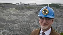 Bernard Coulombe, CEO of Mine Jeffrey Asbestos Mine, poses near his mine's open pit in the town of Asbestos, Quebec, Thursday June 30, 2011. Coulombe is fighting to prevent the labelling of asbestos as a harmful substance. (Francis Vachon For The Globe and Mail)
