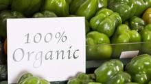 Organic peppers (Jupiterimages/www.jupiterimages.com)