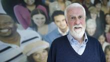 John Fanning retired from his high-school teaching job at 57 but has found his skills useful in his volunteer work at a YMCA in Toronto helping refugees and immigrants overcome language barriers. (Kevin Van Paassen For The Globe and Mail)