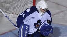 Toronto Marlies goalie Drew MacIntyre. (Graig Abel)