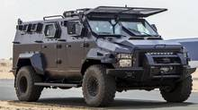 The RCMP has been probing Canadian-owned Streit Group over its sales of armoured vehicles such as these personnel carriers to Libya despite a ban on miliary exports to that country. (STREIT Group)
