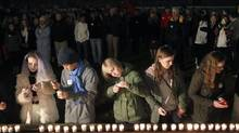 High-school students held a vigil for sexual-assault victims at the University of Virginia, although this cause fell under a cloud of doubt over the facts surrounding a Rolling Stone story. (Ryan M. Kelly/AP)