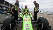 Canadian James Hinchcliffe has yet to finish better than 14th in his hometown race. (John Ulan/THE CANADIAN PRESS)