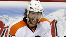Philadelphia Flyers right wing Jakub Voracek (Associated Press)