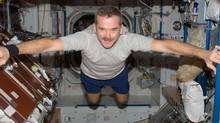 Blacklock's Reporter wrote that Chris Hadfield's 'seemingly spontaneous performances in space were the product of a three-year marketing campaign complete with CBC collaboration and occasional tweets ghostwritten by government employees.' (Canadian Space Agency)