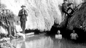 In 1883, railway workers hunting for rocks stumbled upon the hot springs that, two years later, would give rise to Canada's first national park.
