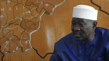 Mali's President Amadou Toumani Toure is seen in an April 2007 file photo. (David Lewis/Reuters/David Lewis/Reuters)